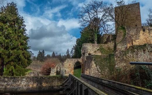 Zwischen Hardtburg und Burg Kirspenich