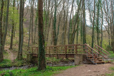 Brücke über den Vichtbach
