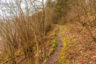Winterlich im Frühling, die Eifel im April