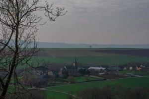 Blick auf Floisdorf