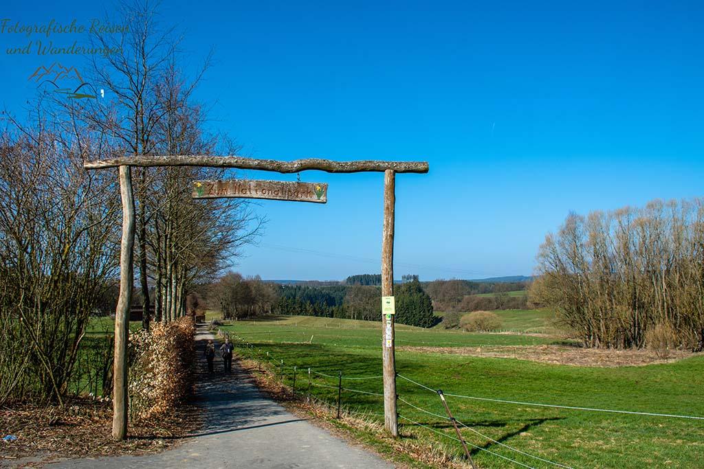 Portal zum Nationalpark Eifel