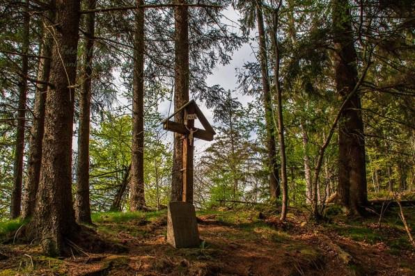 Ein Wegekreuz, so typisch für die Eifel