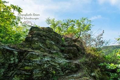 Fels - Abenteuer Wanderung im Sahrbachtal