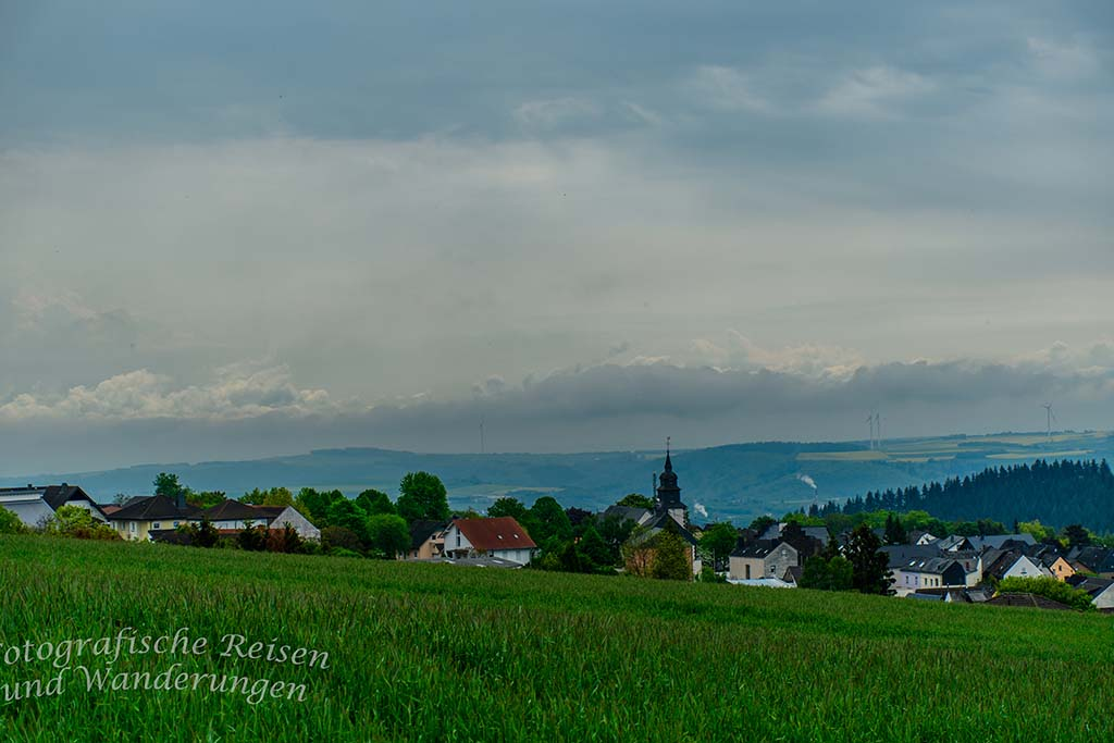 BLick auf St. Johann-Mayen