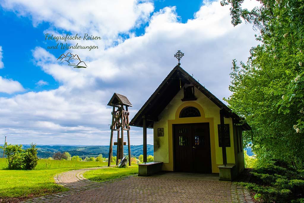 Marienkapelle Gackenbach - Wäller Tour Buchfinkenland