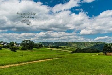 Tief fliegende Wolken - Panoramaweg Frücht