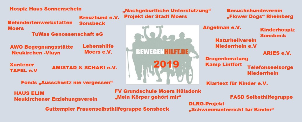 Bewegen hilft 2019 mit Jürgen