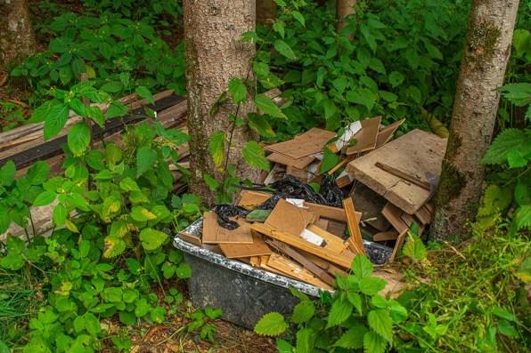 Wilde Müllkippe
