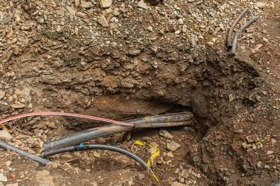 Rohrleitungsverlegung