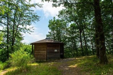 Burgberghütte - Eifelsteig zwischen Manderscheid und Himmerod