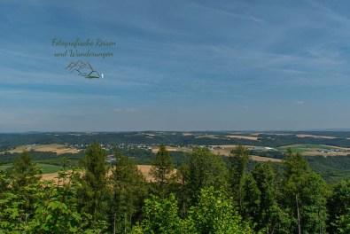 Blick vom Aussichtsturm Mosenberg