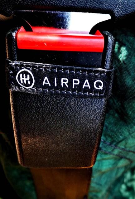 Gurtschloss am Airpaq Rucksack
