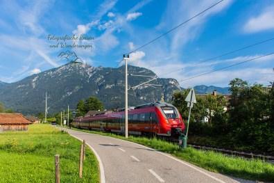 Zugspitzbahn -Um die Zugspitze von Garmisch durch die Partnachklamm nach Klais