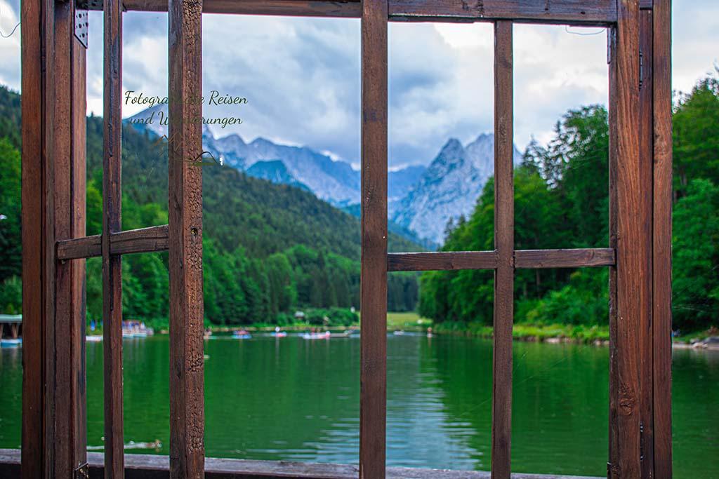 Fenster am Rießer See