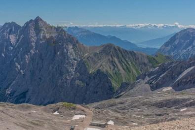 Wanderbloggerin auf der Zugspitze