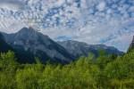 Rückblick auf die Berge
