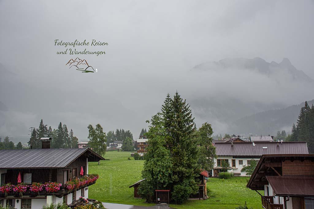 Blick aus dem Hotelfenster Tiroler Hof