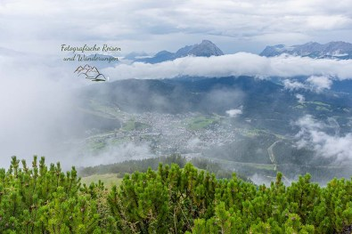 Pause vom Zugspitze wandern