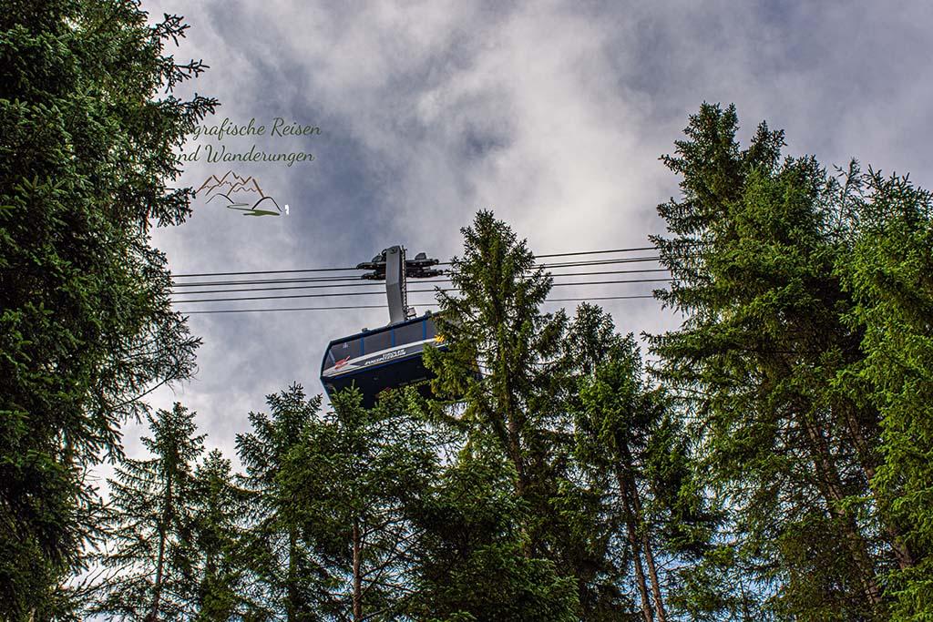 Seilbahn von Ehrwald zur Zugspitze