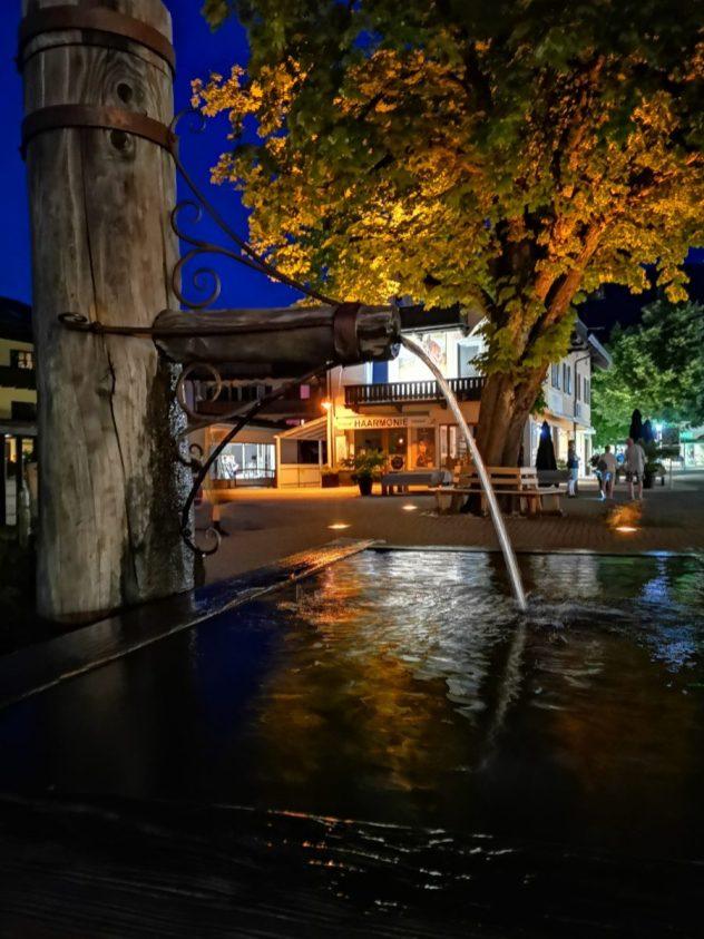 Stadtinneres Garmisch Partenkirchen