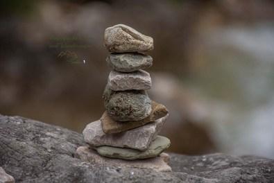 Steinmännchen im Naturparadies Gaistal
