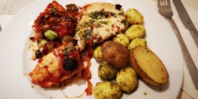 Abendessen in der Jugendherberge Neuharlingersiel