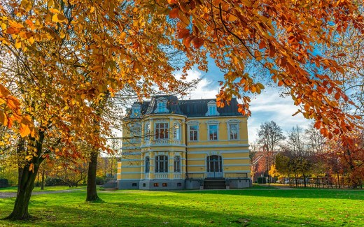 Zwischen Park und Schloss - Grevenbroich an der Erft