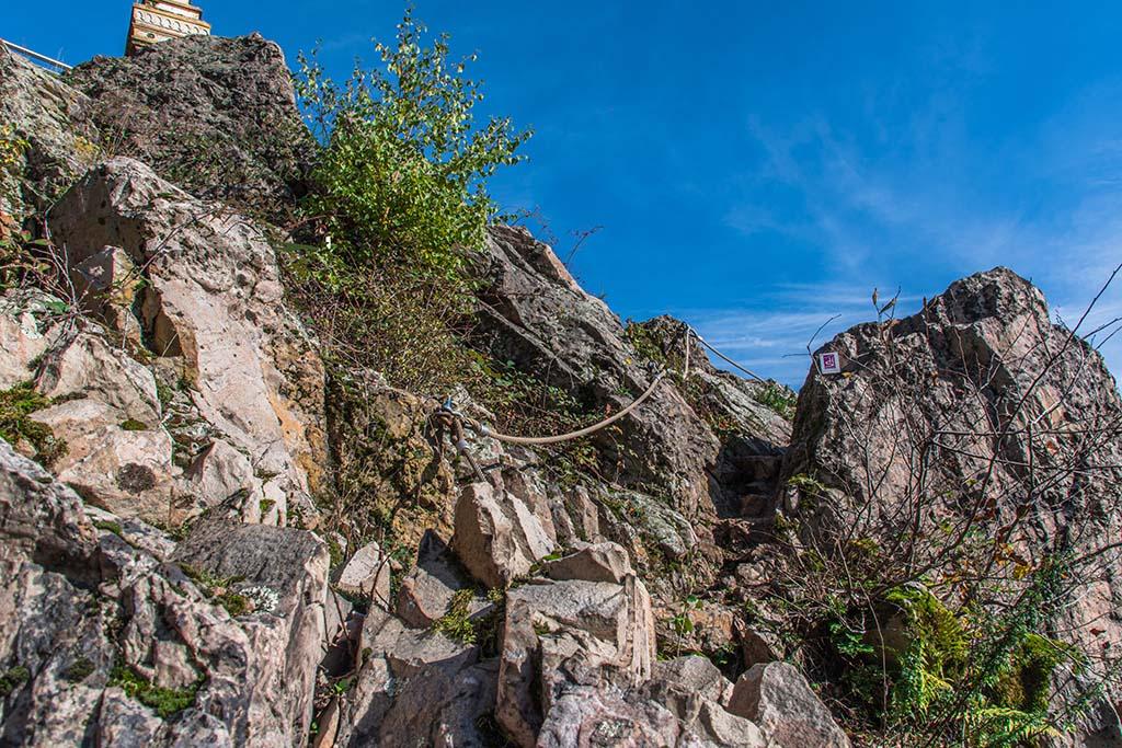 Steilstück am Litermont