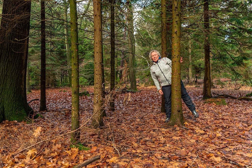Schlösser in Langenfeld - Ich im Wald