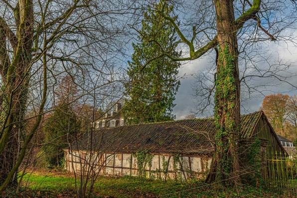 Schloss Hackhausen- Außenanlagen