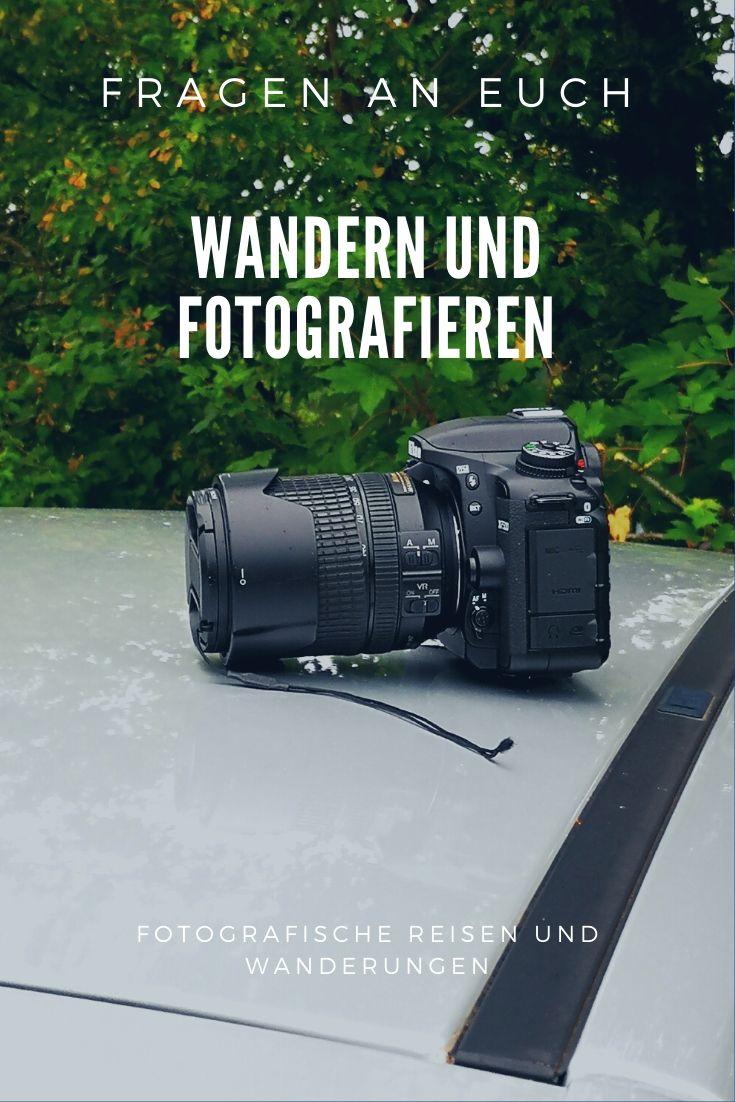 Wandern und fotografieren