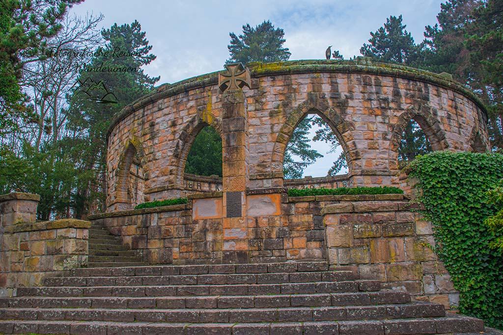 Ehrenmal - Wittringer Wald und Schloss Wittringen