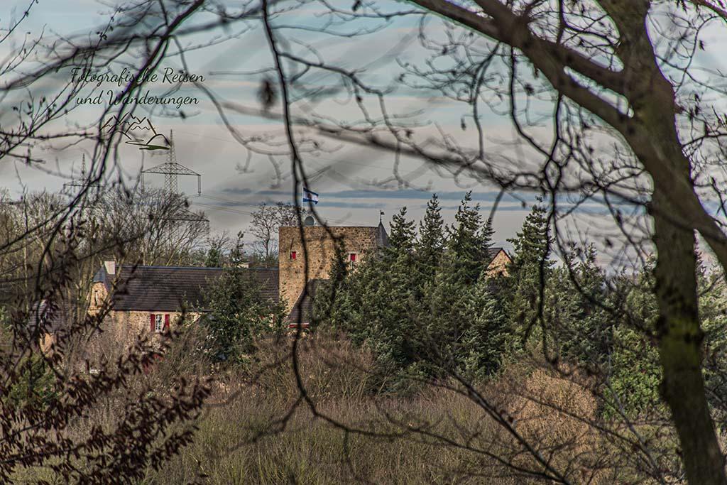 Haus Vorst in Leichlingen - Wupperwanderung im Winter - Wenig Farbe - Viel Gefühl