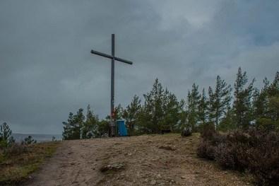 Gipfelkreuz Eifelschleife Altusknipp