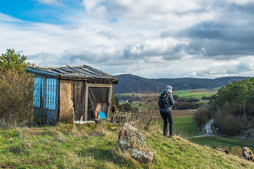 Gruselige Hütte am Halsberg