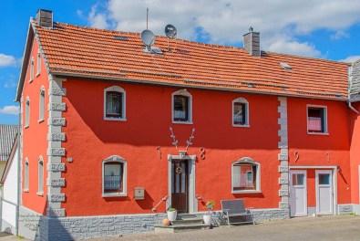 Das rote Haus in Marmagen