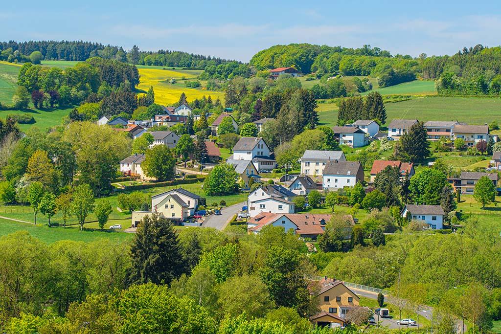 Blick auf Gönnersdorf