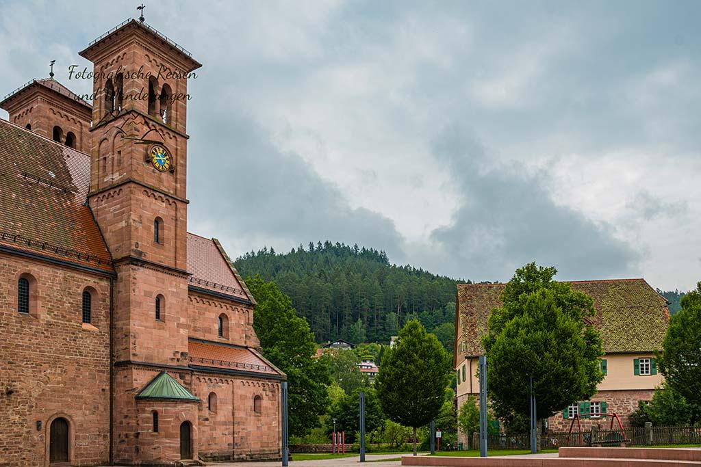 Kindergarten am KlosterReichenbach und Klosterkirche