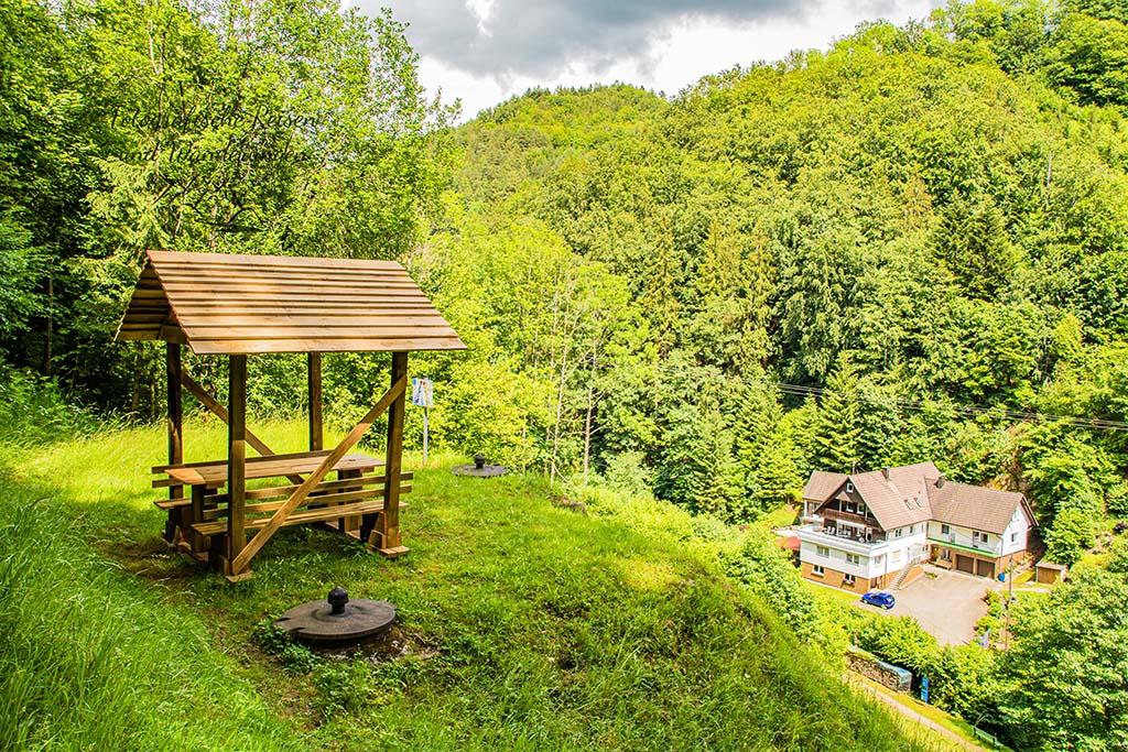 Schutzhütte auf dem Panoramawegle Bad Peterstal-Griesbach