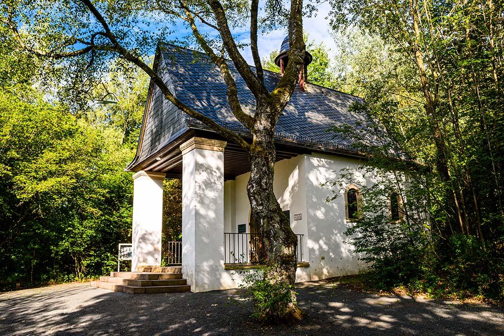 Abstecher in die Vergangenheit - Sühnekapelle Hinzert