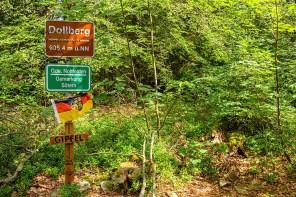 Gipfelkreuz auf dem Dollberg