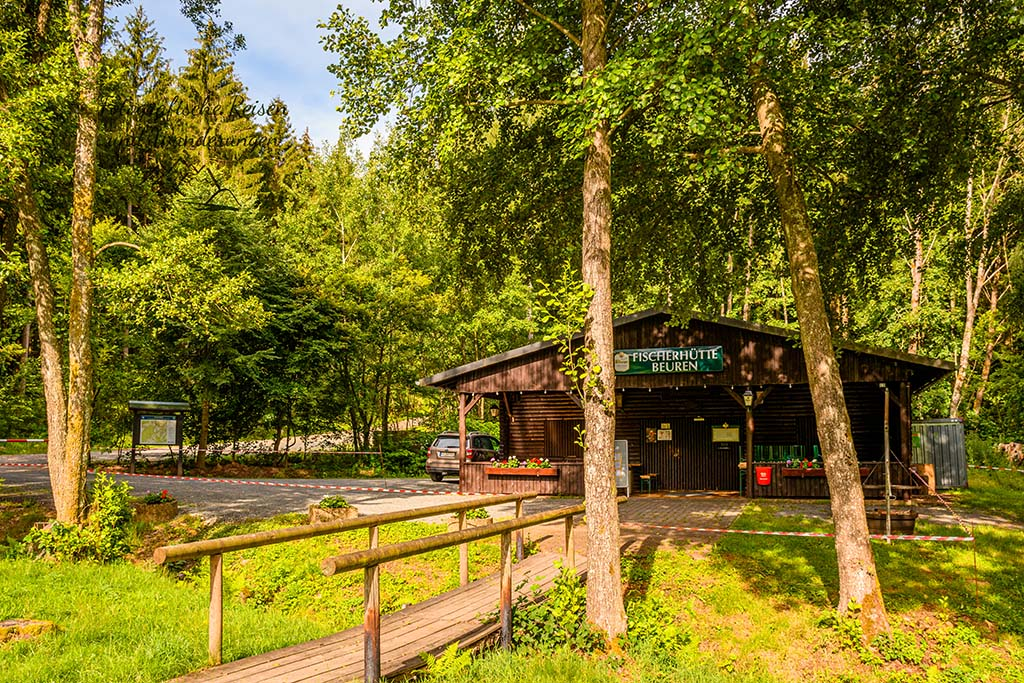 Rockenburger Urwaldpfad Fischerhütte Beuren Hochwald