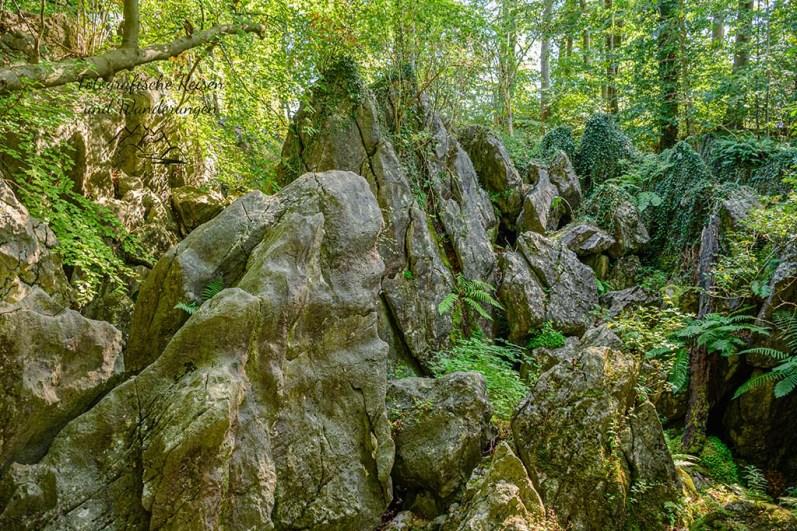 Noch mehr dicke Felsen