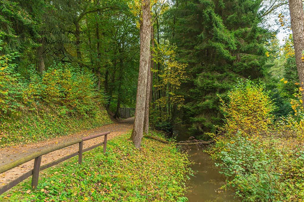 Am Bierbach im Eifel Zoo