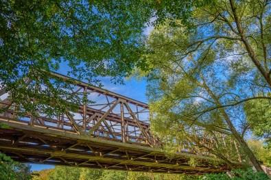 Eisenbahnbrücke über die Wupper