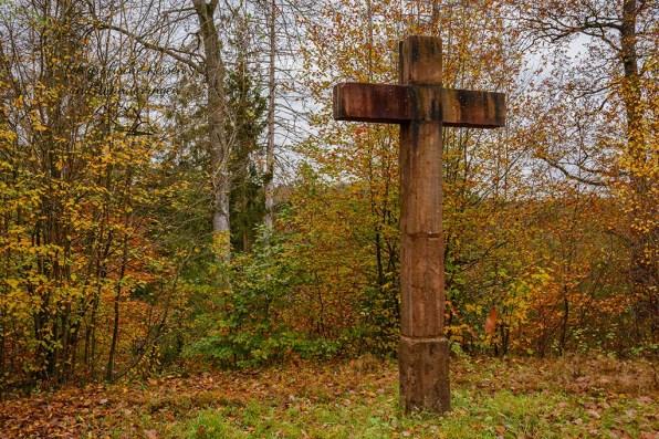 Kreuz an der Kreuzkapelle Crottdorf