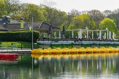 Tretboote Haus am See