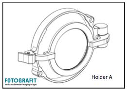 M67 flip diopter holder for 36137