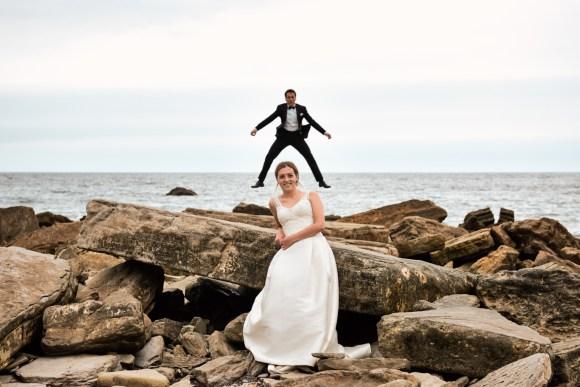 Postboda en la playa por el fotógrafo de bodas La Rioja