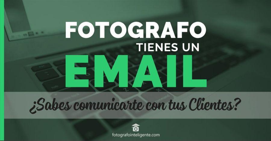 fotografo y la comunicación por email con sus clientes